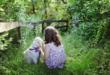 Kind mit Hund 110x75 - Baby und Haustier - so werden beide zum Dreamteam
